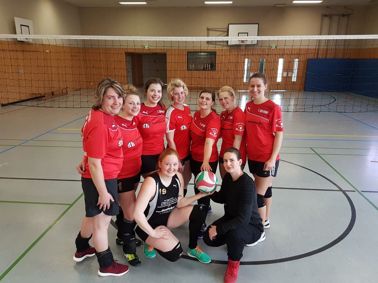 Foto Kreismeister der Damen 2017-18 KV HIG